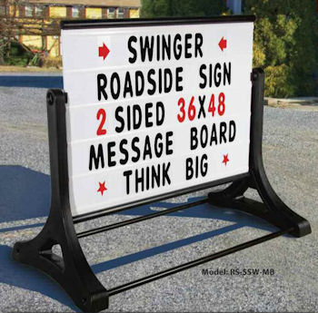 Mobile Signs Portable Roadside Lawn Sign Rentals